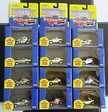 Johnny Lightning Thunder Jets Gold Chrome Sets (12)