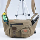new canvas Camera bag case for Canon EOS 5D 6D 60D 600D 650D 700D 100D 70D LENS