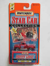MATCHBOX STAR CAR COLLECTION HAPPY DAYS '56 FORD PICK-UP  SERIES 1