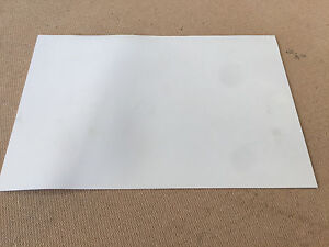 1000mm x 500mm x 2mm White Food Quality Natural Rubber