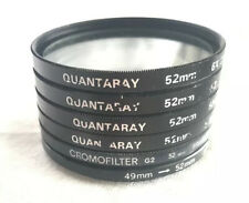 6 vintage 52mm Quantaray filters Special Effects