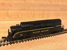 Lifelike N Gauge Locomotive Western Maryland