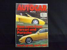 AUTOCAR & MOTOR MAGAZINE 12 MAY 1993. VAUXHALL CORSA 1.2i E-DRIVE ROAD TEST.