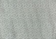 """COLEFAX AND FOWLER CURTAIN FABRIC DESIGN """"Seafern"""" 1 METRE SILVER 100% COTTON"""