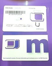 Metro by T-Mobile Sim Cards Lot of 30 Pre Owned MetroPcs