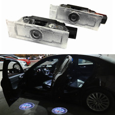 2x Alfa Romeo Giulietta Giulia Ghost LED Door Step Courtesy Shadow Laser Light