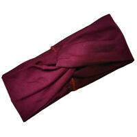 Cotton Hair Band Hair Accessories Headwear Cross Twist Knot Head Wraps Headbands