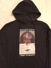 Brand New (band) - XS - I Am A Nightmare / X-Files - hoodie shirt band merch