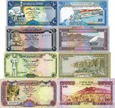 YEMEN - Yemen Lot Lotto 4 banconote 10/20/50/100 Riels FDS - UNC