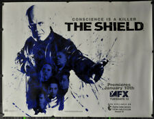 THE SHIELD 2005 ORIG 46X60 SUBWAY MOVIE POSTER MICHAEL CHIKLIS FOREST WHITAKER
