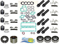 "Chrysler Force 120 HP 3.375"" Powerhead Rebuild Kit Piston Gasket Bearings 91-94"