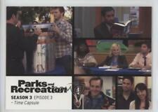 2013 Press Pass Parks and Recreation Seasons 1-4 #33 Time Capsule Card 2a1