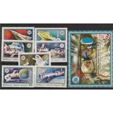 1975 MONGOLIA  SPAZIO COOPERATIVA USA URSS  7  VAL+ 1 BF  MNH  MF57255