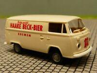 1//87 Brekina # 0823 VW T1 b Pritsche//Plane Schultheiss Bier Sondermodell ...