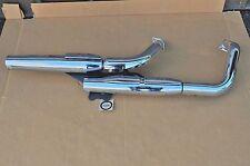 2001-07 Honda Shadow VT750 DC Exhaust Muffler & Header Pipe Heat Shield Assy