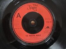 "THE JAM The Modern World 7"" VERY RARE RED LABEL UK ORIGINAL PAUL WELLER"