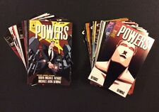 POWERS #1-37 Comic Books COMPLETE 1st Series Image / Marvel TV Show 1st Prints