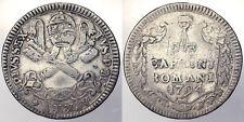 2 CARLINI 1794 PIO VI ANNO XX STATO PONTIFICIO PAPAL STATE RARA RARE # PF387