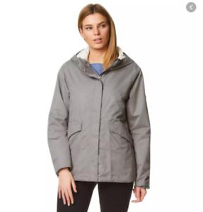 Craghoppers Womens Marla Aquadry Waterproof Jacket - Sz Small - Grey