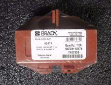 Brady Plug Lockout 65674 (M)