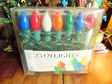 New Other(old stock) Christmas Mb Merry Brite Lights 25 In/Out Doors Green Wire