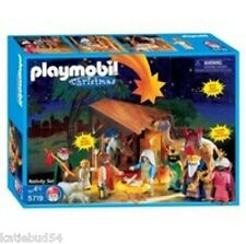 Collectible Playmobil Christmas Nativity and Wise Kings NEW Sealed Box Retired