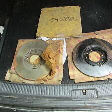 Rover P6 2000 1963-1966 Rear brake rotor NOS pair 540882