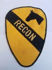 Vietnam Era 1st Cavalry Recon SSI Patch