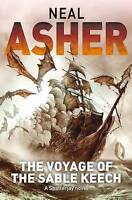 """VERY GOOD"" Asher, Neal, The Voyage of the Sable Keech (Spatterjay), Book"