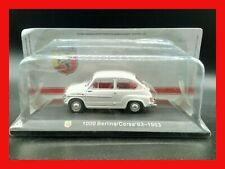 1:43 1/43 HACHETTE abarth collection FIAT 600 1000 BERLINA CORSA 1963 - MB