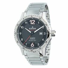 Edox 80094 3NM NO1 Men's Chronorally 1 Stainless Steel Automatic Watch
