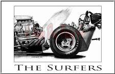 "Drag Racing Art Print of  The Surfers ..13"" x 19"""