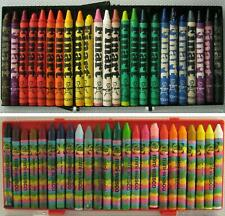 2 Sets of 24 Vintage 1970's Wax Crayons Finart The Cosmic Crayon Co + Talens 🖍️