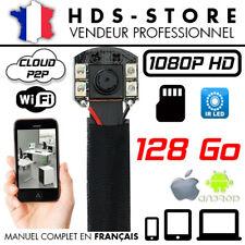 MODULE CAMERA ESPION IP WIFI FULLHD 1080P + MICRO SD 128 GO INFRAROUGE DÉTECTION
