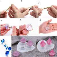 Mould Art Jewelry Making Molds Resin Pendant Craft DIY Small Silicone X7Z8