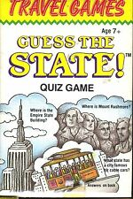 Guess The State Quiz Game Cards