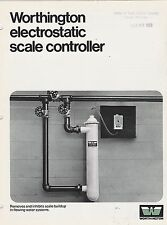 VINTAGE CATALOG #2978 - 1971 WORTHINGTON ELECTROSTATIC SCALE CONTROLLER