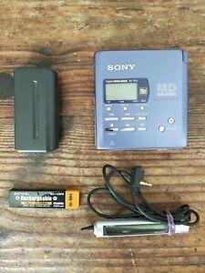 Sony Minidisc MD Player Recorder MZ-R55