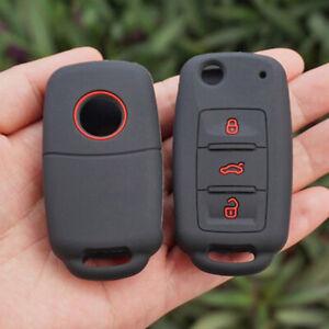 1*Car Key Case Cover For VW Polo Golf Passat Tiguan Jetta Bora Remote Fob Useful