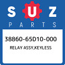 38860-65D10-000 Suzuki Relay assy,keyless 3886065D10000, New Genuine OEM Part