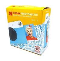 Kodak Printomatic Instant Camera - Blue/White (RODOMATICBLWM) ™