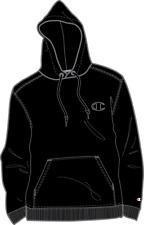 Champion Black Original Super Fleece Cone Hood-Original Edition