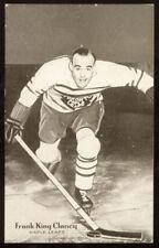 "1936 Champions Postcards Frank ""King"" Clancy - EX+ to EM - Key card in set!"