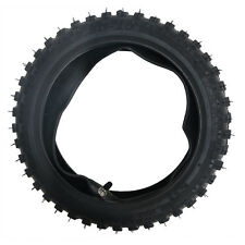 """2.50-10"""" 2.5-10 """" Inch Front Knobby Tyre Tire + Tube PIT Trail Dirt PW50 Bike"""