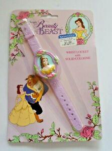 Disney's Beauty & The Beast wrist locket with cologne like a princess watch