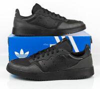 Adidas Originals Supercourt Casual Shoes Black EE7762 Men's size 10.5