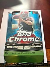 (4) 2014 TOPPS CHROME FOOTBALL HOBBY PACKS FACTORY SEALED! GAROPPOLO AUTO RC??