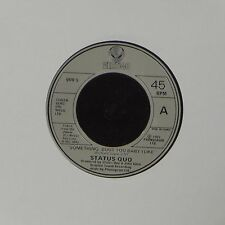 "STATUS QUO 'SOMETHING 'BOUT YOU BABY I LIKE' FRENCH IMPORT 7"" SINGLE #3"