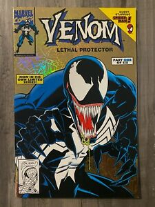 Venom Lethal Protector #1 Gold Variant NEVER READ High Grade NM CGC It