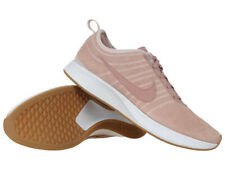 Women's Nike Dualtone Racer SE Shoes Pink Leather Sneakers Everyday Sneakers